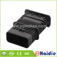 Free shipping 2sets 5pin auto plastic housing plug wire harness cable waterproof connector