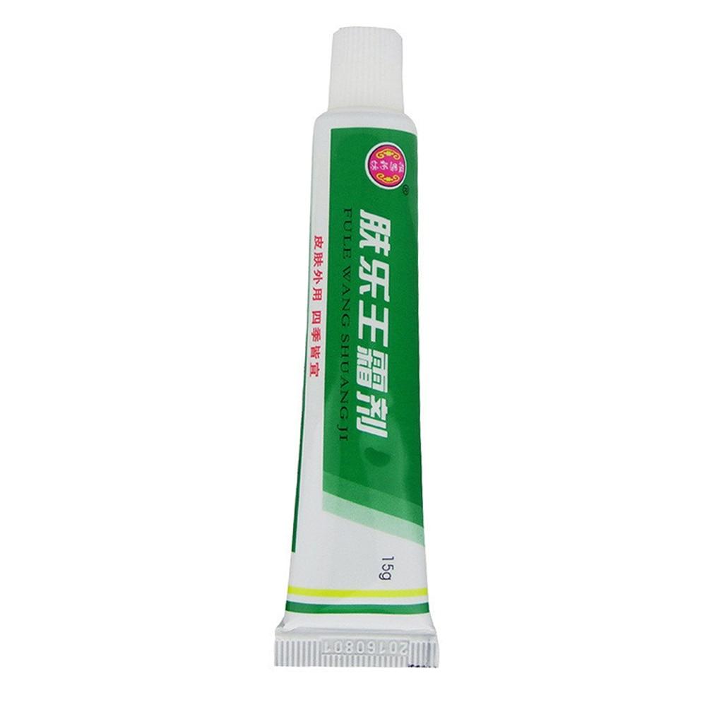 Pruritus Herbal Dermatitis Eczema Treat Skin Care Portable Psoriasis Ointment Massage Cream Quick Absorb External Use