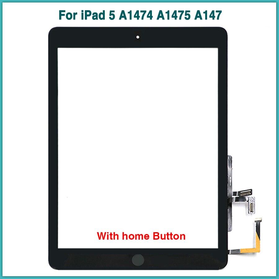 10PCS Nieuwe touchscreen Voor iPad Air 1 iPad 5 A1474 A1475 A147 Touch Screen Panel Digitizer Sensor Voor Glas-in Tablet LCD's & panelen van Computer & Kantoor op AliExpress - 11.11_Dubbel 11Vrijgezellendag 1