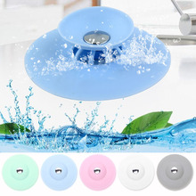 Bathroom Silicone Drains Plug Filter Pressing Bouncing Closed Cover Strainer Floor Sucker Home Kitchen Tools Accessories