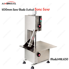 HL1650 commercial electric bone saw machine 1650mm blade stainless steel meat cutter Frozen Fish Cutting Machine