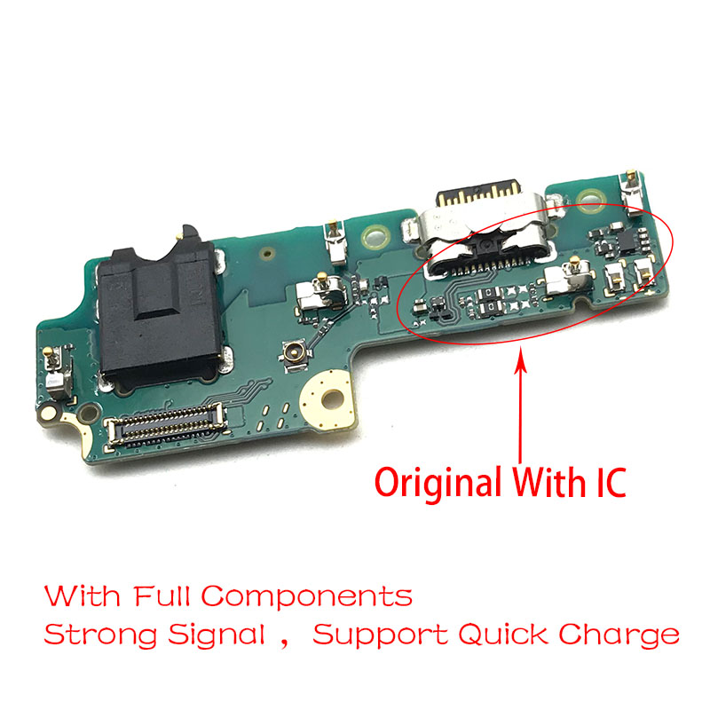 USB Charge Port Jack Dock Connector Charging Board Flex Cable For LENOVO K5 Pro