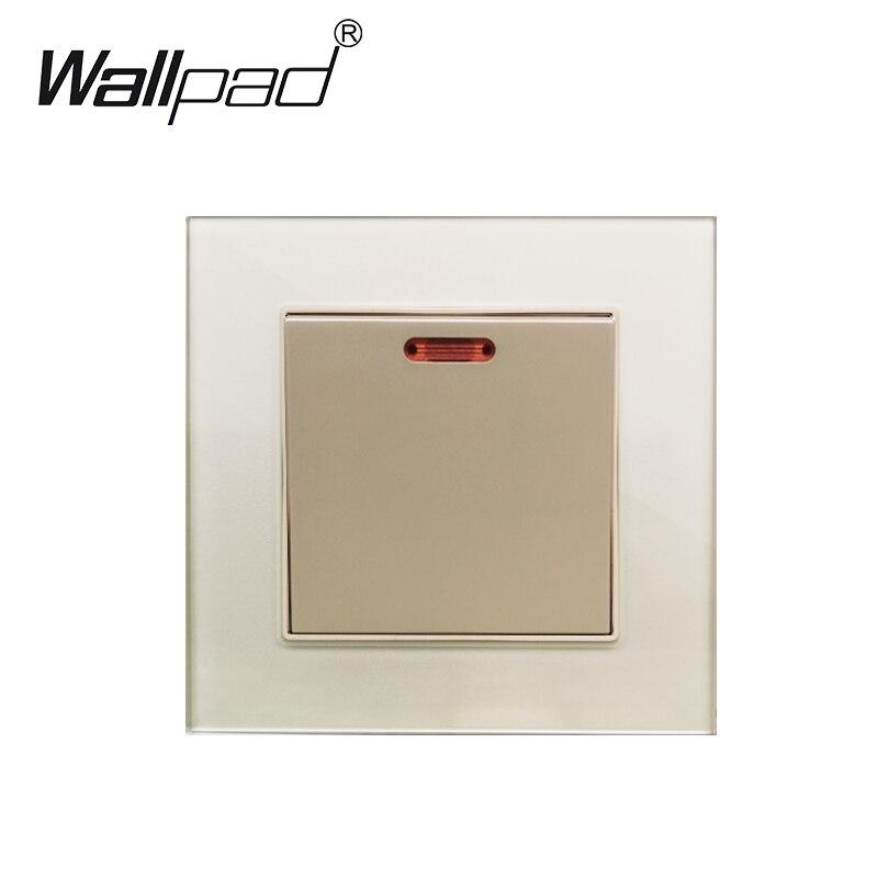 45A DP interruptor de cocina de pared con Panel de cristal de pared de neón Panel 45A interruptor de pared On/Off Mujeres de hombro elástico tubo superior sujetador blusa sin tirantes Bandeau Crop camisa