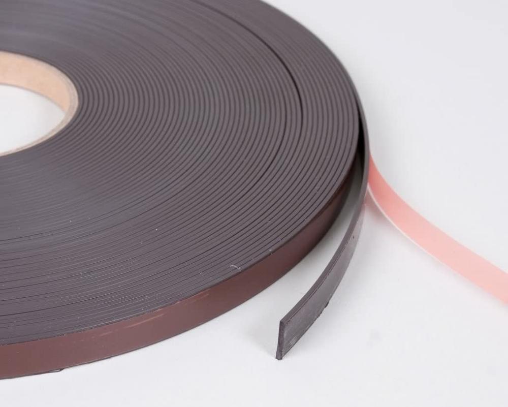 11 мм в ширину A + B магнитная лента   Магнитные ленты для летучих экранов и москитных сеток   Самоклеющиеся магнитные рулоны сбоку A и B