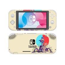 Legenda Zelda NintendoSwitch skórka naklejka naklejka pokrywa dla Nintendo przełącznik Lite Protector przełącznik do Nintendo Lite skórka naklejka