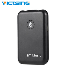 VicTsing 2 in 1 Bluetooth 4.2 Receiver Transmitter Wireless AUX Adapter 3.5 mm Jack Audio for Tables TV Home Sound System wireless bluetooth digital transmitter sound audio adaptor decoding optical coaxial audio transmission sound for tv dvd