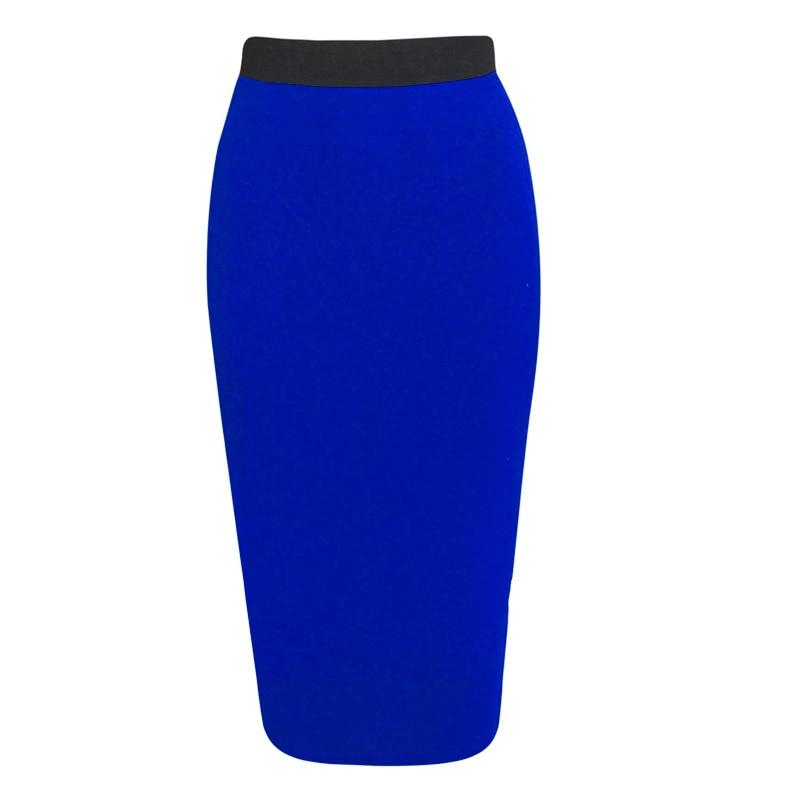 2019 New Ladies Skirt Sexy Slim Fit Trend Street Bottom Tight Long Skirt Cotton Blend Ladies Skirt