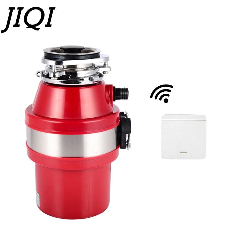 JIQI 370 Вт Еда вывоз мусора Дробилка Измельчитель Отходов Еда следов мусора процессор Точильщик канализационные мусор Кухня Приспособления 1