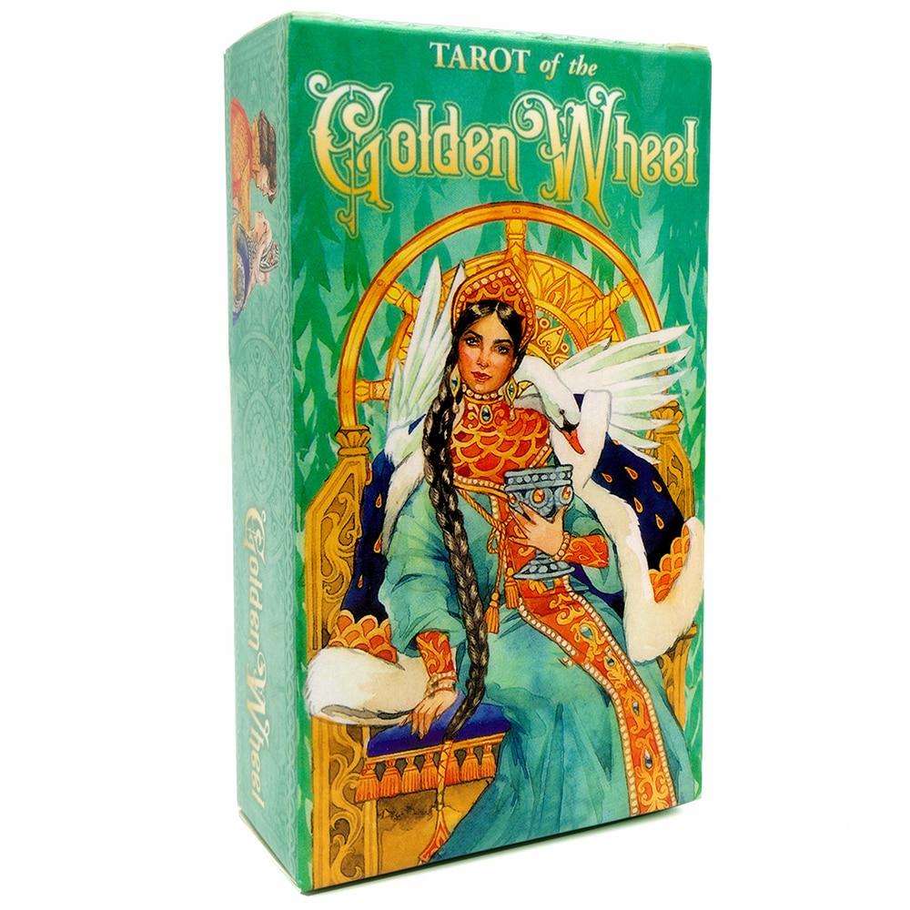 78pcs The Rider Tarot Magician Oracle Card Deck English Tarot Card Deck Guidebook Card Card Game Magical Fate Divination Card 14