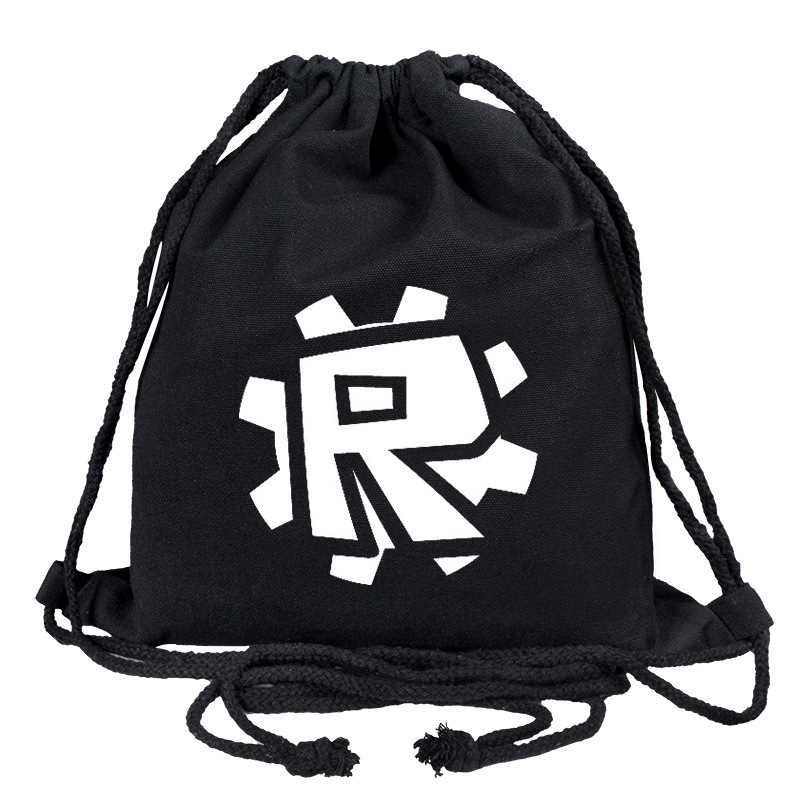 Canvas School Bag  ROBLOX Game Student College Style Backpack Mochila Feminina Men's And Women's Casual Bag Custom