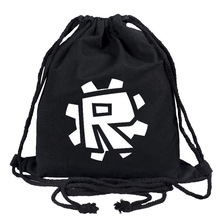 Canvas School Bag ROBLOX Game Student College Style Backpack