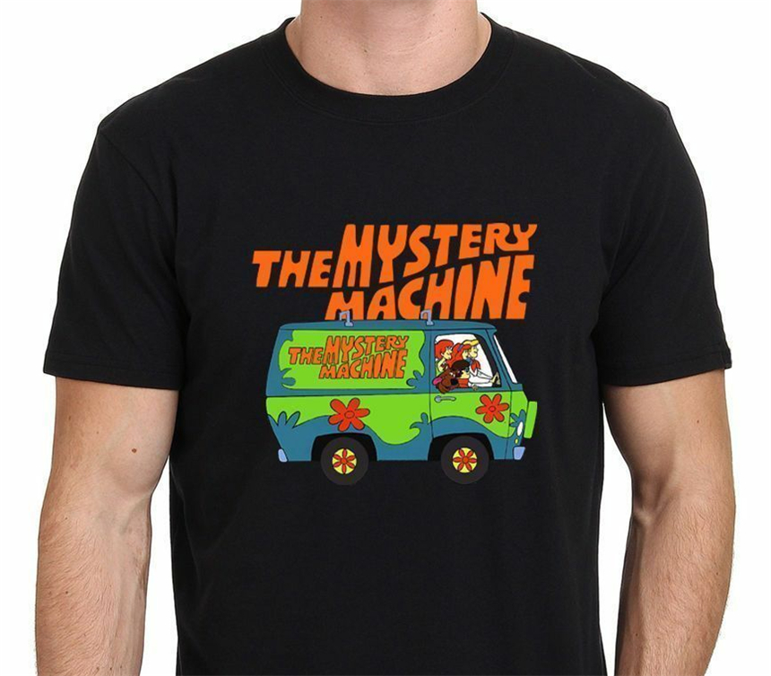 Scooby Doo Mystery Machine T-Shirt Custom Printtee Shirt