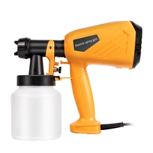 Handheld Spray Paint Sprayers Home Electric Airbrush Easy Spraying Cars Wood Furniture Wall Woodworking Set EU Plug