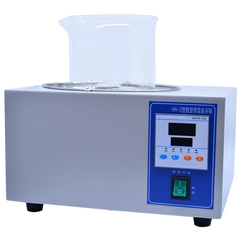 Heating Fast Power Consumption Low Oil Bath Laboratory Oil Bath Digital Display Constant Temperature Oil Bath Hh s 3l 5L - 3