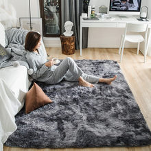 Motley Plush Carpets For Living Room Soft Fluffy Rug Home Decor Shaggy Carpet Bedroom Sofa Coffee Table Floor Mat Cloakroom Rugs(China)