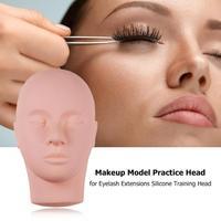 Классическая нежная мягкая моделирующая модель головы практичная текстура прочная ресница для обучения наращивания инструмент для красот...