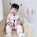 Детская одежда бренда Yg, Новинка весна-осень 2021, детская одежда, Вязаный комбинезон с бантом для маленьких девочек, модные брюки, Climbin