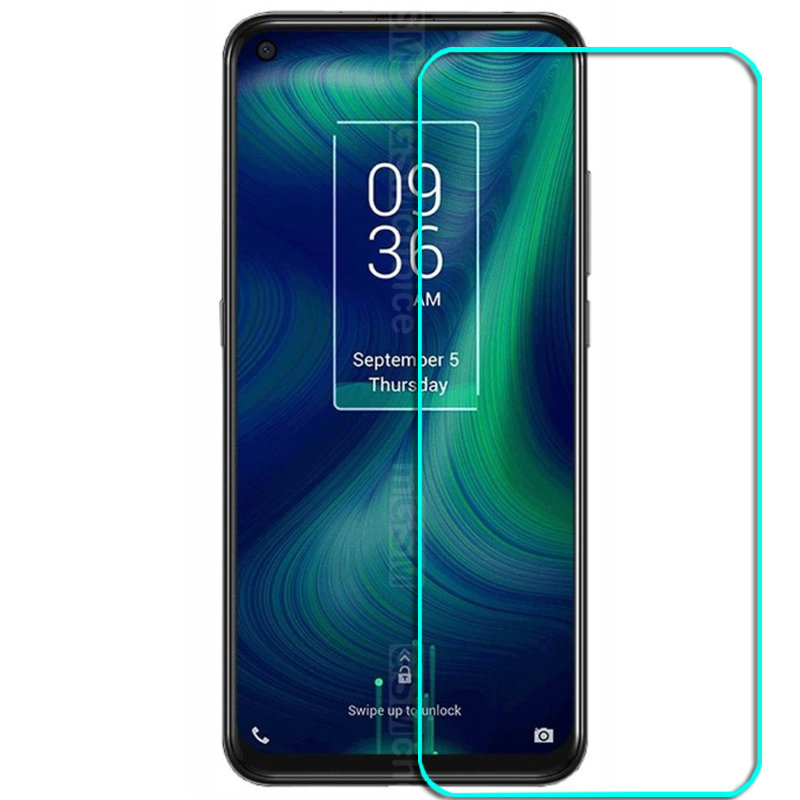 Tempered Glass For Alcatel TCL PLEX Glass 9H 2.5D Protective Film Explosion-proof Clear LCD Screen Protector Phone Cover