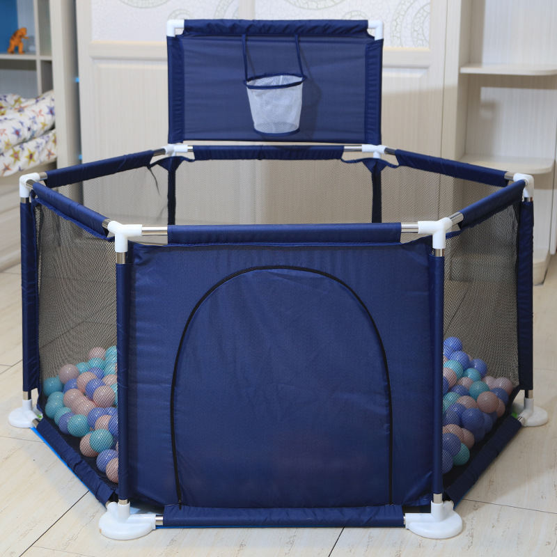0-6 Years Old Children Parent-child Interaction Marine Ball Protection Fence Toddler Toddler Fence Indoor and Outdoor Play Fence