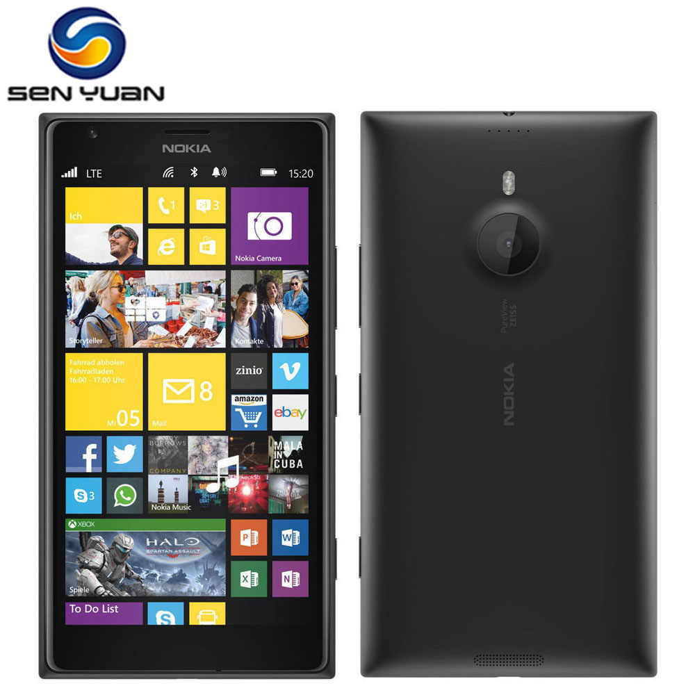 Original Entsperrt Nokia Lumia 1520 handy 20,0 MP 6,0 inch TouchScreen Quad-Core 32GB Windows OS Renoviert telefon