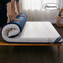Natural Latex Mattress Tatami Memory-Foam Foldable King Chpermore Queen-Size Double Single