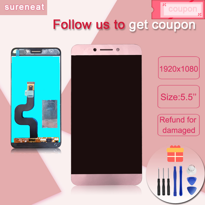 5.5 Inch For Letv LeEco Le 2 Le2 Pro X620 X520 X526 X527 LCD Display+Touch Screen Digitizer Assembly Replacement