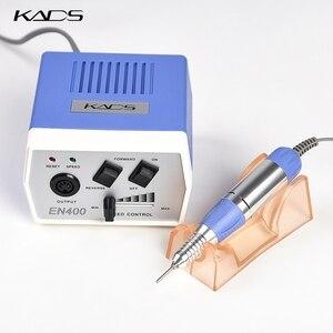 Image 4 - KADS 30000RPM Electric Nail Drill Macchina di Pedicure Trapano Maniglia Nail Drill Bits Set Trapano Nero Della Penna del Manicure Macchine Utensili