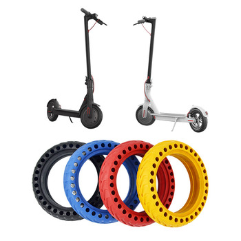1PC XiaoMi Mijia M365 Scooter Perforated Shock Absorbing Stab-resistant Explosion-Proof Tires Free Pneumatic Ever Solid Tyre