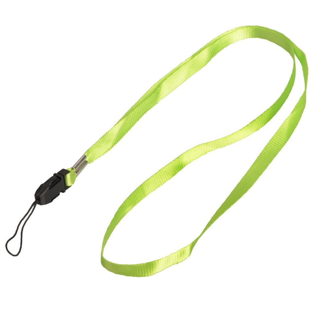 1 шт., ремешок для телефона на шею, для удостоверения личности, пропуска, значка, ключ для спортзала/держатель для мобильного телефона, USB, сделай сам, веревка, Лариат, ремешок - Цвет: Green