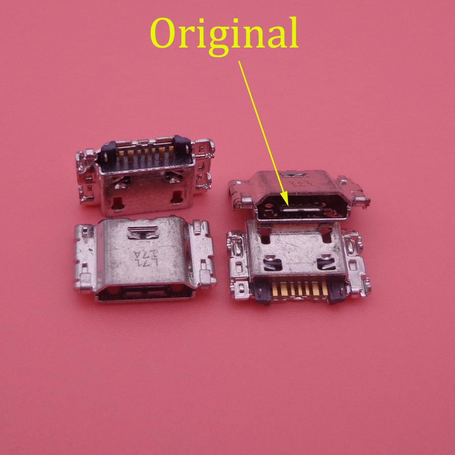 20pcs For Samsung Galaxy J3 J330 J330F J5 J530 J530F J7 J730 J730F 2017 Micro USB Charging Charger Connector Port Dock
