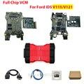 Диагностическая система VCM II VCMII с двойной печатной платой с полным чипом для Ford VCM2 IDS HDD V121/ V115 VCM 2 интерфейс OBD2 сканирующий инструмент Многоя...