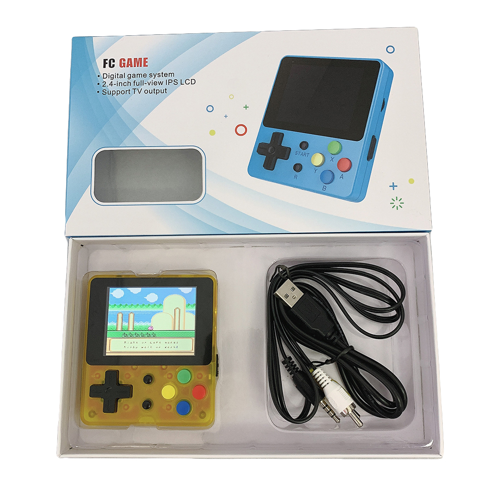 Portable Video Game Console 8 Bit Retro Mini Pocket Handheld Game Player Built-in 188 Classic Games for Child Nostalgic Player