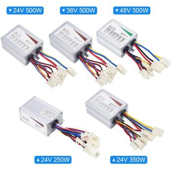24V/36V/48V 250W/350W/500W DC Electric Bike Motor Brushed Controller Box for Electric Bicycle Scooter E-bike Accessories image
