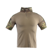 Military Shirt Camouflage Army Tactical Battle Combat Short Shirt Men Women USMC Softair Camisa Militar Special Forces Costume