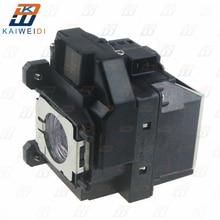 Für ELPLP67 Projektor lampe mit Gehäuse für EPSON HC710HD/Megaplex MG 50/MG 850HD EB C250W EB C15S EB C05S/EB W12/ EB C35X/C215S