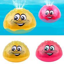 Детская игрушка для ванны, милый светодиодный мигающий музыкальный шар, брызгающий водой, разбрызгиватель, детская игрушка для ванны, для душа, для детей, для плавания, вечерние