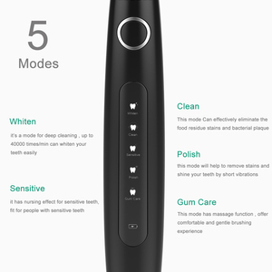 Image 3 - Professional Sonic Electric Toothbrush 5 Modes Clean Whiten Protect Gingival Rechargeable Waterproof Birthday Gift Best Selling