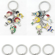 Fashion My Hero Academia Logo Keychain Pendants Hogwarts Magic School College Enamel Metal Car Keyring Men Jewelry Gift(China)