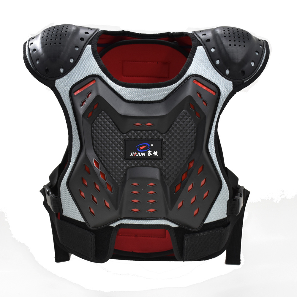 Kid Armor Protection Hand protection motocross Boy Girl Child Body Protect Vest Armor Kids Motocross Chest Spine Protection