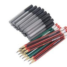 Porte-crayon mécanique en plastique, 2.0mm, 1 pièce, 2B recharge de plomb, outils de croquis d'art pour dessiner, étudiants, papeterie de couleur aléatoire