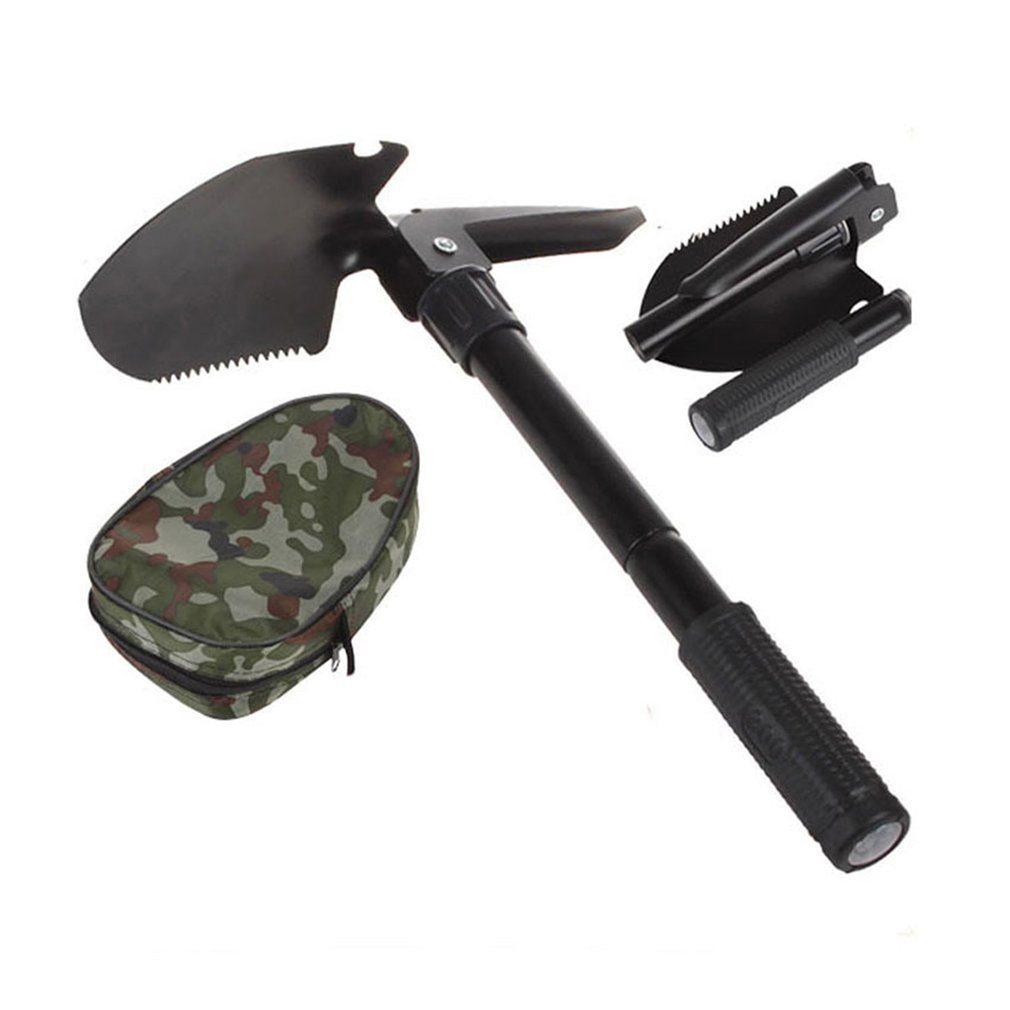 Car Portable Small Engineer Shovel Fishing Multi-purpose Tool Shovel Outdoor Camping Multi-purpose Folding Garden Shovel