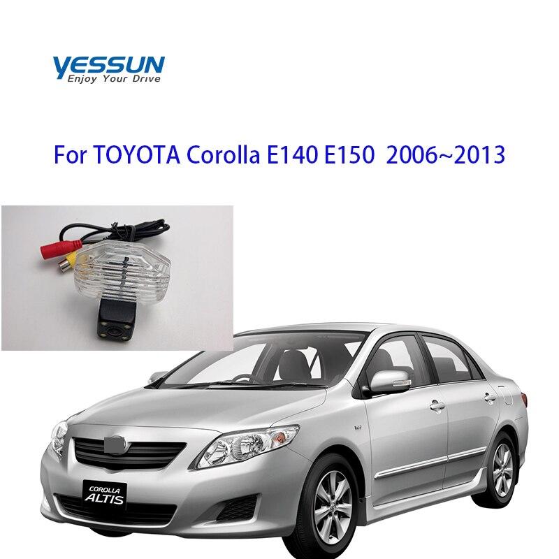 Car Accessories CCD Car Rear View Reverse Backup Camera  For Toyota Corolla E140 E150 2006 2007 2008 2009 2010 20112012 2013