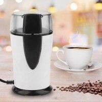 Najlepsza sprzedaż elektryczny młynek do kawy 220 240 V fasola szlifowanie Miller młynek do kawy młynek do kawy do ziarna przyprawy ue P w Ekspresy do kawy od AGD na