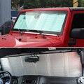 Автомобильный солнцезащитный козырек от солнца  солнцезащитный козырек для окна автомобиля  защита от солнца для Jeep Wrangler 2007-2017