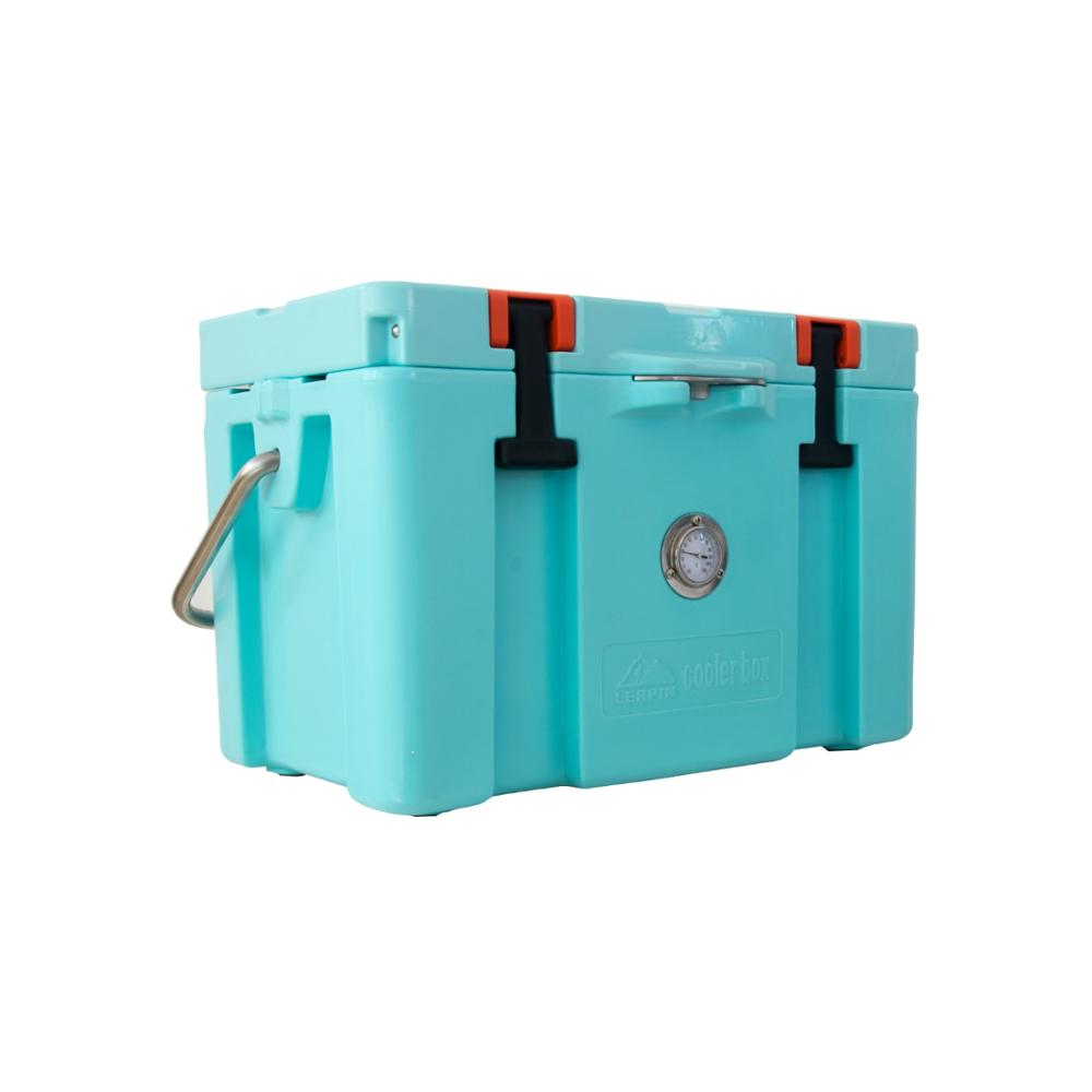 Lerpin 2020 latest  design insulated ice chest roto molded camping cooler box mini fridge-2