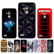 Matte Cases For Leagoo T8S Case Silicone Coque On Leagoo M7 M5 Plus Kiicaa Mix Shark1 Shockproof Soft diy Painted T8S TPU Covers