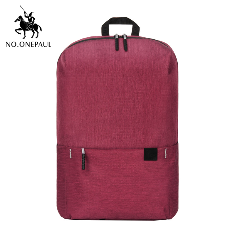 NO.ONEPAUL Women Backpacks Travel Daypack Laptop Backpack Famous Brand School Casual Mochila Female Mini Backpack Free Shipping