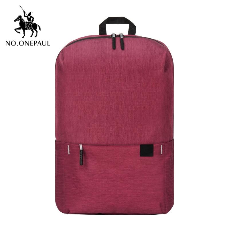NO.ONEPAUL Women Backpacks Travel Daypack Laptop Backpack Famous Brand School Casual Mochila Female Mini Backpack Free Shipping