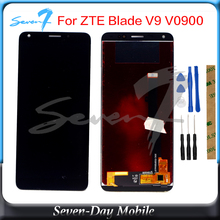LCD Display For ZTE Blade V9 V0900 LCD Display Touch ScreenFor ZTE Blade V9 Vita LCD Assembly Replacement Digitizer защитное стекло luxcase для zte blade v9 vita