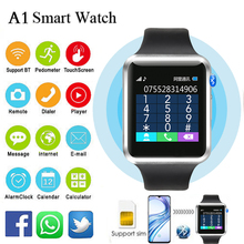 A1 Watch Smart Watches For Men Women 2021 Fashion Sports Bracelet Homme Pedometer Sleep Monitor Bluetooth Dialing Support Photo